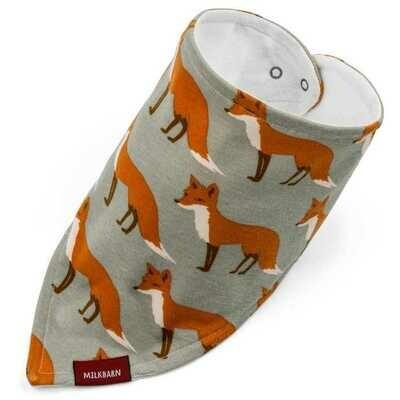 Milkbarn Fox Kerchief Bib