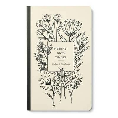 My Heart Gives Thanks - Write Now Journal