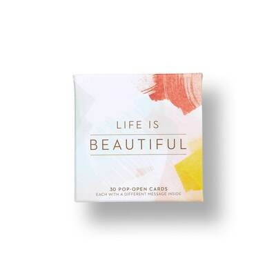 Life is Beautiful - Pop Open Cards - Thoughtfulls