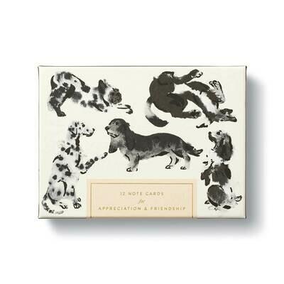 Dog - Appreciation & Friendship Boxed Notecard Set