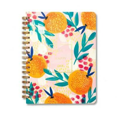 Oh Happy Day Ruled Spiral Notebook