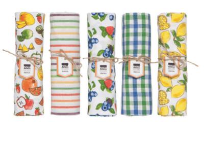 Berries & Fruit Asst Tea Towels