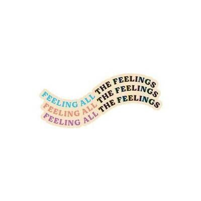 "PipSticks Feeling All the Feelings Stickers - 3""-4"""