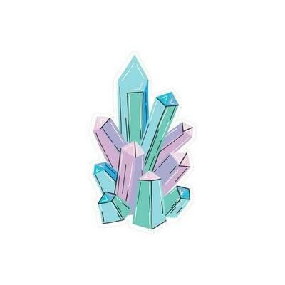 "PipSticks Crystals Vinyl Stickers - 3""-4"""