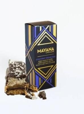 Coconut Dream Bar 3.5oz Bar - Mayana Chocolate