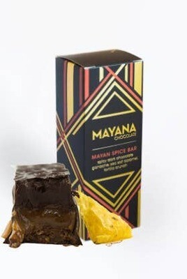 Mayan Spice Bar 3.5oz Bar - Mayana Chocolate