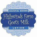 Celestial Waters 2oz Goats Milk Lotion
