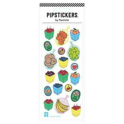 PipSticks Farmers Market Stickers - 3x7