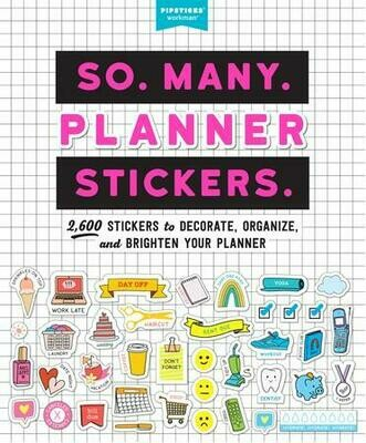 So. Many. Planner Stickers. - Pipsticks - PB