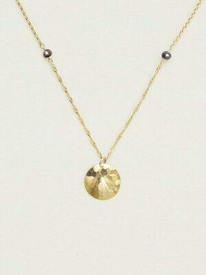 Holly Yashi 12036 Peacock/Gold Ashley Pendant Necklace