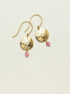Holly Yashi 14051 Rose Constance Earrings
