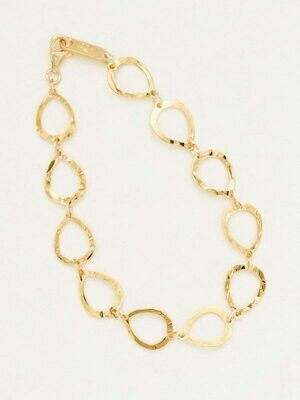 Holly Yashi 12234 Gold Tilly Bracelet