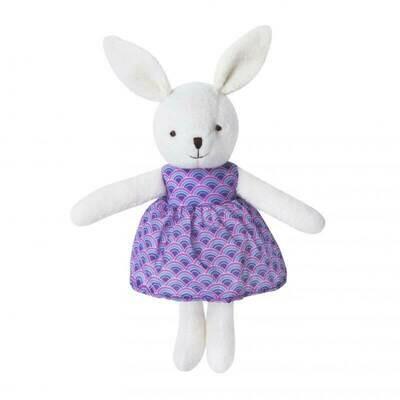 White Little Plush Bunny - Apple Park