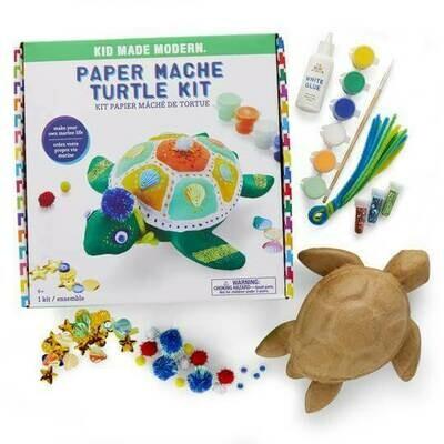 Kids Made Modern Paper Mache Turtle Kit