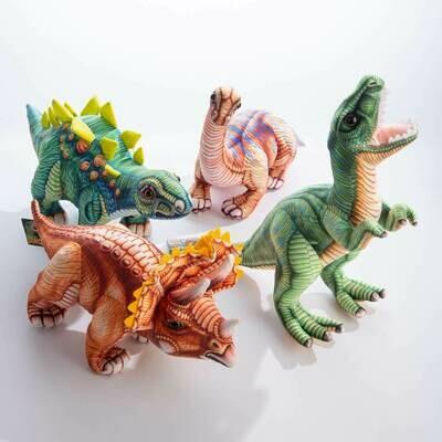 Plush Dinosaur - Asst