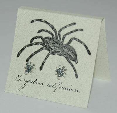 S&B Spider SS Post Earrings
