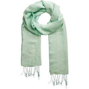 Marquet Jade Silk/Linen Binh Minh Breeze Evening Shawl