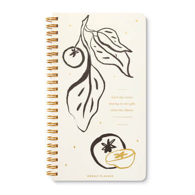 Each Day Comes Bearing Gifts Weekly Undated Planner