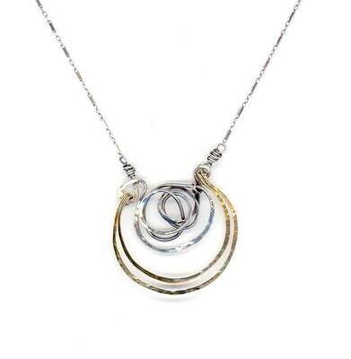 AbaM 59506N Knot Necklace