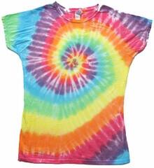 Pastel Swirl Womens Lrg T-Shirt - Sundog