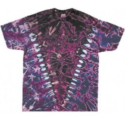 HL Purple Vee Plain Dyed Lrg T-Shirt