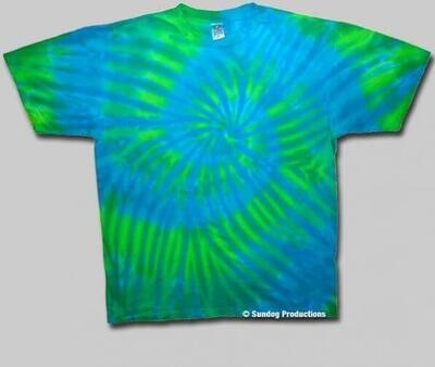 Surf Swirl Med T-Shirt - Sundog