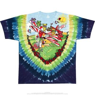 Biplane Bears XL T-Shirt