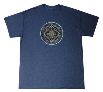 HL Alchemical Mandala Solid Lrg T-Shirt