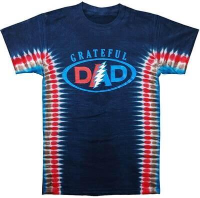 Grateful Dad Tie Dye L T-Shirt - Sundog