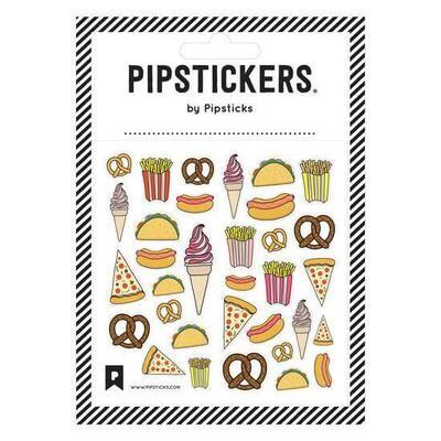 PipSticks Junk Food Fun Stickers - 4x4