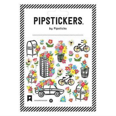 PipSticks World in Bloom Stickers - 4x4