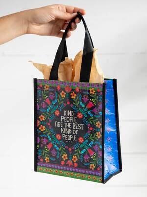 NL 159 Kind People Happy Bag Med Recycled Gift Bag