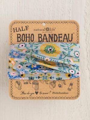 319 Grey Mandala Half Boho Bandeau