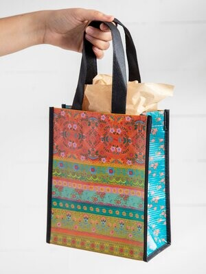NL 160 Borders Happy Bag Med Recycled Gift Bag