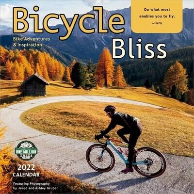 WAL Bicycle Bliss 2022 Wall Calendar