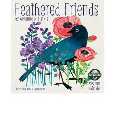 MIN Feathered Friends 2022 Mini Calendar
