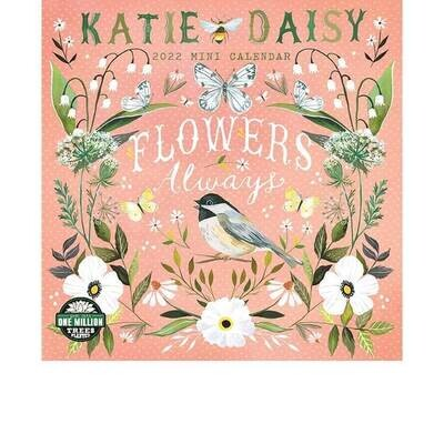 MIN Katie Daisy 2022 Mini Calendar