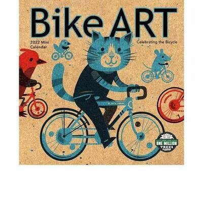 MIN Bike Art 2022 Mini Calendar