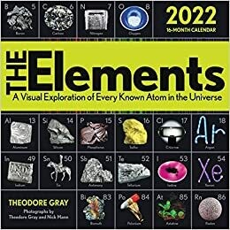 WAL Elements 2022 Wall Calendar