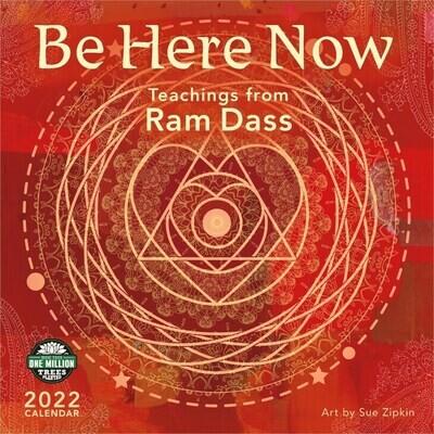 WAL Be Here Now Ram Dass 2022 Wall Calendar