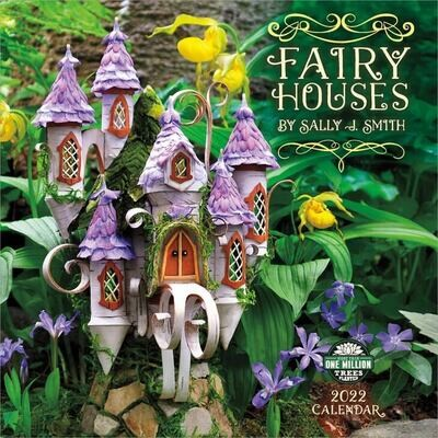 WAL Fairy Houses 2022 Wall Calendar