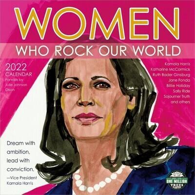 WAL Women Who Rock out World 2022 Wall Calendar