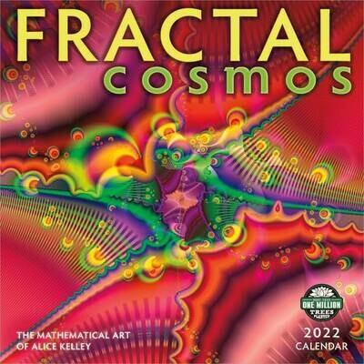WAL Fractal Cosmos 2022 Wall Calendar