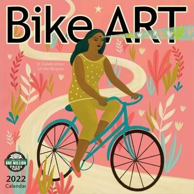WAL Bike Art 2022 Wall Calendar
