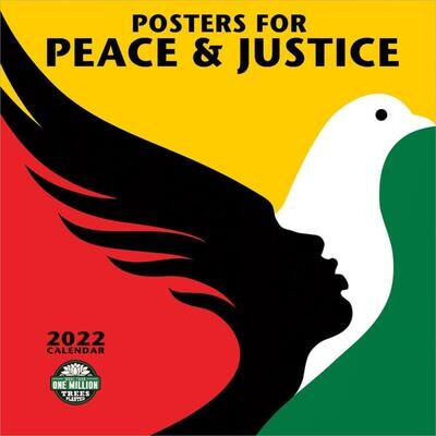 WAL Posters for Peace & Justice 2022 Wall Calendar