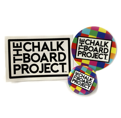 Sticker & Button Pack