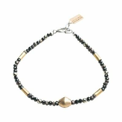 Noir Gemstone Bracelet