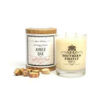 SF Amber Oak Candle