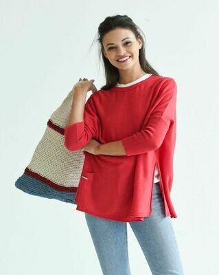 Catalina Sweater - Poppy