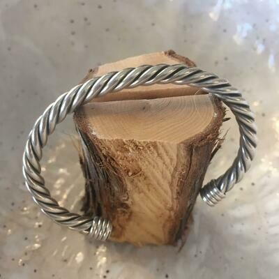 Sterling Rope Bracelet